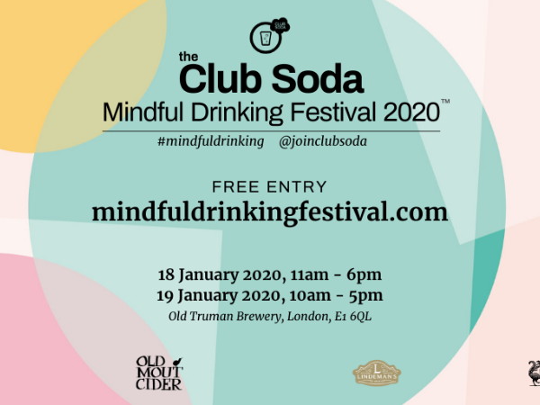 ALCOHOL-FREE COCKTAILS KICK OFF 2020 IN STYLE AT JANUARY'S MINDFUL DRINKING FESTIVAL